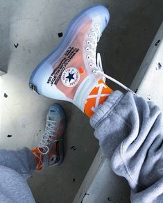 How to get Nike Off-White Cas 70 Hi / OW shoes online . - Perfect Nike Off-White - Shoes Casual Sneakers, Sneakers Fashion, Fashion Shoes, Converse Fashion, White Sneakers, Sneakers Style, Ootd Fashion, Fashion Clothes, Casual Shoes