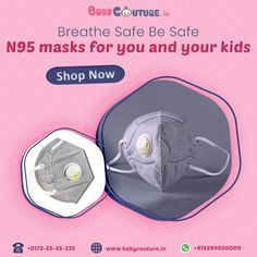 This Kids N95 Mask is made from washable cloth that prevents the airborne particles and liquid contamination of the face of your kids.