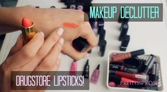 Thanks for watching my makeup collection declutter featuring drugstore lipsticks! Drugstore Lipstick, Lipsticks, Most Popular Videos, All Things Beauty, Makeup Collection, Declutter, Lipstick, Organizing Life