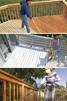 All About Decks: Deck maintenance projects and tips to keep your deck looking great for years. Read more:  http://www.familyhandyman.com/decks