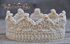 Cream Baby Girl Crochet Crown, Baby Accessories, Newborn Size, Infant Girls crown , princess toddle Source by etsy Crochet Pig, Crochet Socks, Baby Girl Crochet, Newborn Crochet, Crochet For Kids, Newborn Crown, Girls Crown, Baby Girl Hair, Hippie Chic