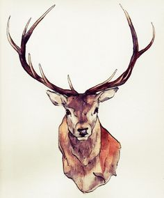 I love this one.. Printable stag prints