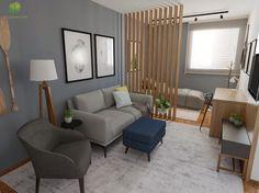 Small Studio Apartment Design, Small Apartment Interior, First Apartment Decorating, Tiny Apartments, Space Saving Furniture, Dream Decor, Decoration, Bedroom Decor, Living Room