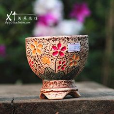 hand crafted pots for succulents - Google Search