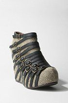 Jeffrey Campbell Multi Buckle Wedge  #UrbanOutfitters