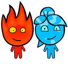 Fireboy and Watergirl #fireboy_and_watergirl #strike_force_kitty_2 #strikeforce_kitty_2 http://strikeforcekitty2.tumblr.com/