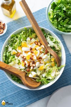 Gehackter Herbstsalat Egg Recipes You Love! Ww Recipes, Salad Recipes, Cooking Recipes, Dishes Recipes, Healthy Recipes, Healthy Options, Healthy Foods, Salad Dishes, Food Dishes