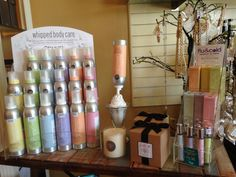 A wonderful new lotion and hand sanitizer line at Occasions!
