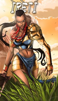 Ireti and other new black superheroes in pictures.