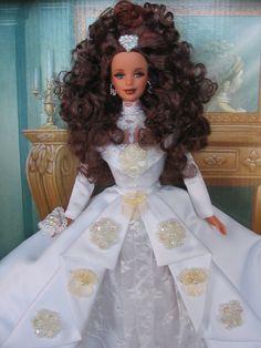 ooak Barbie Bride