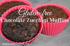 gluten free chocolate zucchini muffin recipe Made these tonight. Added carrot, too. Kids love them. I don't feel guilty because there's only 2 tbsp of maple syrup and NO white sugar. Yum diddly um di dum!