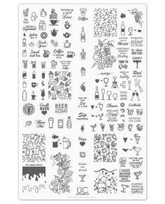 185 Mejores Imágenes De Placas Para Uñas Placas Para Uñas