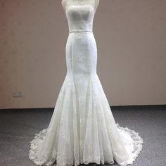 Find More Wedding Dresses Information about Real Sample Mermaid Classical…