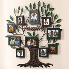 family tree painting | New 27 x28 Photo Family Tree Metal Wall Art | eBay