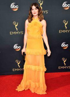 2016 Emmy Awards - Mandy Moore , in Prabal Gurung