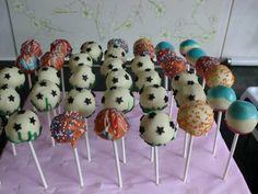 Voetbal cakepops