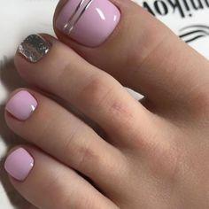 Toenail Art Designs, Manicure Nail Designs, Pedicure Nail Art, Manicure And Pedicure, Toe Designs, Pretty Toe Nails, Cute Toe Nails, Pretty Nail Art, Pretty Nail Designs