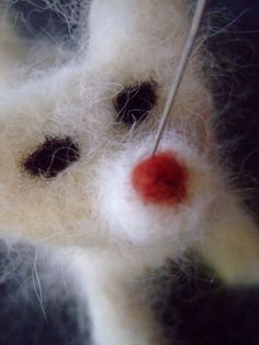 Needle Felted Pet Replica, with Your Pet's Own Fur! @Craftzine.com blog. Perfect - now I know what to do uwith all the coat I've been taking off my Cairns....