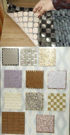 WALL TILES Standard Size  : 1' x 1' Unit cost : 800-1200 Tk Per Piece Application : Interior Walls Installation Process : Solution gum  Manufactor & Vendor : China / Innovative Decor, Mohakhali