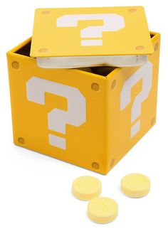 ThinkGeek :: Super Mario Brothers Question Box Candy