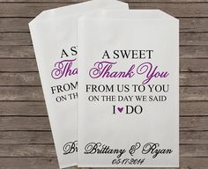 Hey, I found this really awesome Etsy listing at https://www.etsy.com/listing/238505361/wedding-favor-bag-candy-buffet-bags