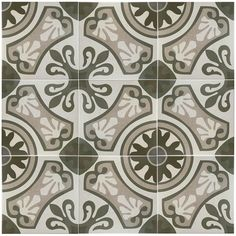 Merola Tile Sofia Gris 13 in. x 13 in. Ceramic Floor and Wall Tile (15.5 sq. ft. / case)-FCC13SOG - The Home Depot