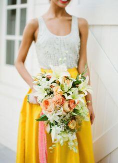 Yellow wedding theme ideas that make us feel like sunshine! Low Key Wedding Dress, Boho Wedding Dress, Wedding Shoot, Wedding Blog, Dream Wedding, Wedding Dresses, Wedding Stuff, Wedding Ideas, Yellow Wedding