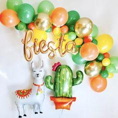 Gold Fiesta Script Fiesta Balloon Garland Fiesta Script Fiesta Balloons First Fiesta Balloons Llama Balloons Llama Party Final Fiesta Mexican Birthday Parties, First Birthday Parties, Birthday Party Themes, First Birthdays, 2nd Birthday, Themed Parties, Birthday Ideas, Balloon Garland, Balloons