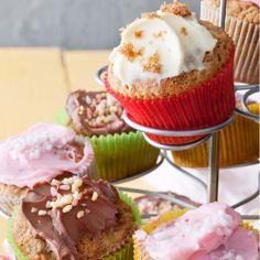 Healthy Baking, Margarita, Delicious Desserts, Cupcakes, Breakfast, Food, Morning Coffee, Cupcake Cakes, Essen