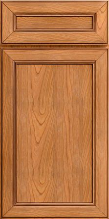 Merillat Masterpiece Cabinetry-Hadley Cherry Natural with Cocoa Highlight from waybuild Cabinet Door Styles, Cabinet Doors, Shutter Designs, Main Door, Kitchen Doors, Hadley, Highlight, Cabinets, Cherry