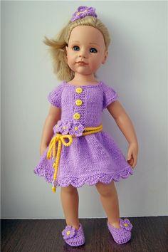 Платья для кукол Готц Gotz и других подобных кукол ДОСТАВКА В ЦЕНЕ! / Одежда для кукол / Шопик. Продать купить куклу / Бэйбики. Куклы фото. Одежда для кукол