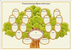 генеалогическое древо шаблон word скачать бесплатно - фото 9