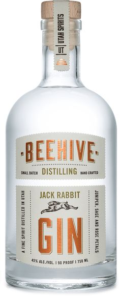 Spirits - Beehive Distilling | Utah Gin jack rabbit gin barrel reserve gin