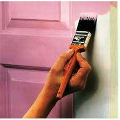 como pintar portas e janelas de madeiras com tinta colorida