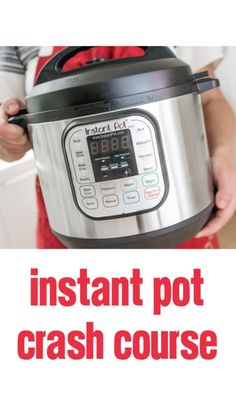 """So you got an Instant Pot for Christmas. Now what? I can't cook worth a darn, but I am a total """"pot head"""" now. Here are some tips to help you rock that pot."""