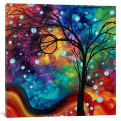 Varick Gallery Winter Cold by Megan Duncanson Graphic Art on Wrapped Canvas & Reviews | Wayfair