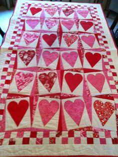 Happy Heart quilt