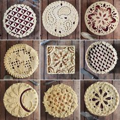 Holiday Pie Crust Ideas – Decorate Tart – – Famous Last Words Pie Decoration, Decoration Patisserie, Decorations, Vodka Pie Crust, Creative Pie Crust, Beautiful Pie Crusts, Super Torte, Pie Crust Designs, Pies Art