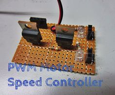 Motor Dc, Motor Speed, Electronics Gadgets, Electronics Projects, Electronic Speed Control, Diy Tech, Arduino Projects, Electric Motor, Ipad Mini