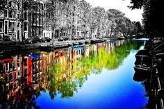 Jacob recommends Canals of Amsterdam, Amsterdam. Amsterdam, capital of the Netherlands, has more than one hundred kilometres of canals, about 90 i. Splash Photography, City Photography, Black And White Photography, Better Photography, Portrait Photography, Hand Photography, Photography Women, Color Splash, Color Pop