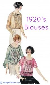 1920s shirts for women