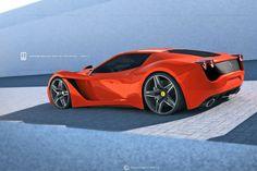 Ferrari 365 Turin by David Williams