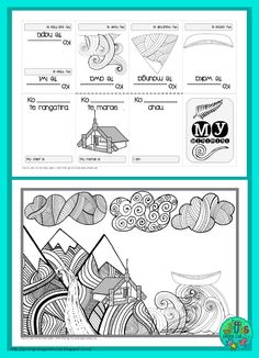 FREE Mihi/Pepeha template by Green Grubs Garden Club Art Activities For Kids, Teaching Activities, Teaching Tools, Teaching Ideas, School Resources, Teacher Resources, Treaty Of Waitangi, Zentangle, Waitangi Day