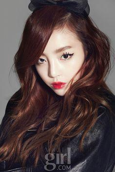 Goo Hara ★ KARA - Vogue Girl Korea