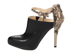 Enzo Angiolini Yoursonly Black/Natural Snake - Zappos.com Free Shipping BOTH Ways