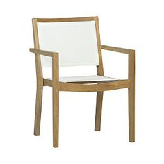 Regatta Mesh Dining Chair, my favorite so far with the round table