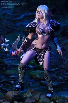 #Cosplay Night Elf (World of Warcraft)