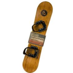 Lucky Bums Heirloom Collection Wooden Snowboard (95cm) $70.00