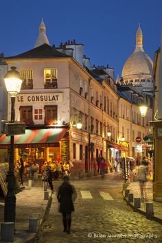 Montmartre, Paris France. © Brian Jannsen Photography