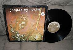 Alhaji Bai Konte-1973 Debut~African Jali~Kora Jazz Folk~Rounder Records 5001 LP #AfroWorldJazz